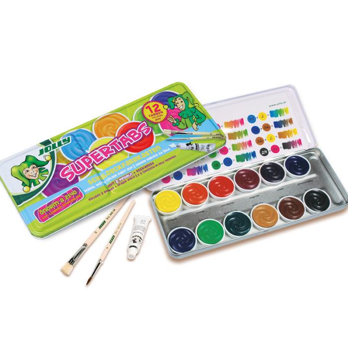 Supertabs 12 Farben