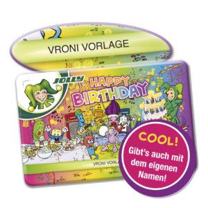 Geburtstag, Geschenk, Farbstifte mit Namen, 36 Farben